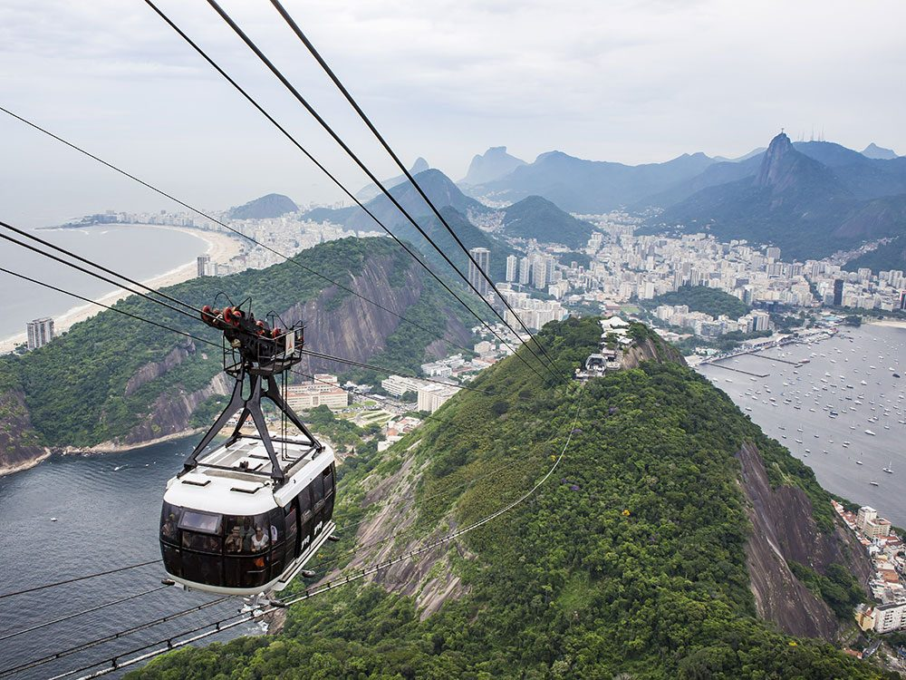 Sugarloaf Mountain by cable car