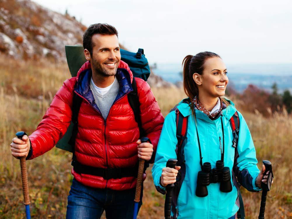 Go hiking