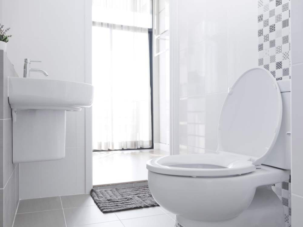 Use denture tablets to clean your toilet