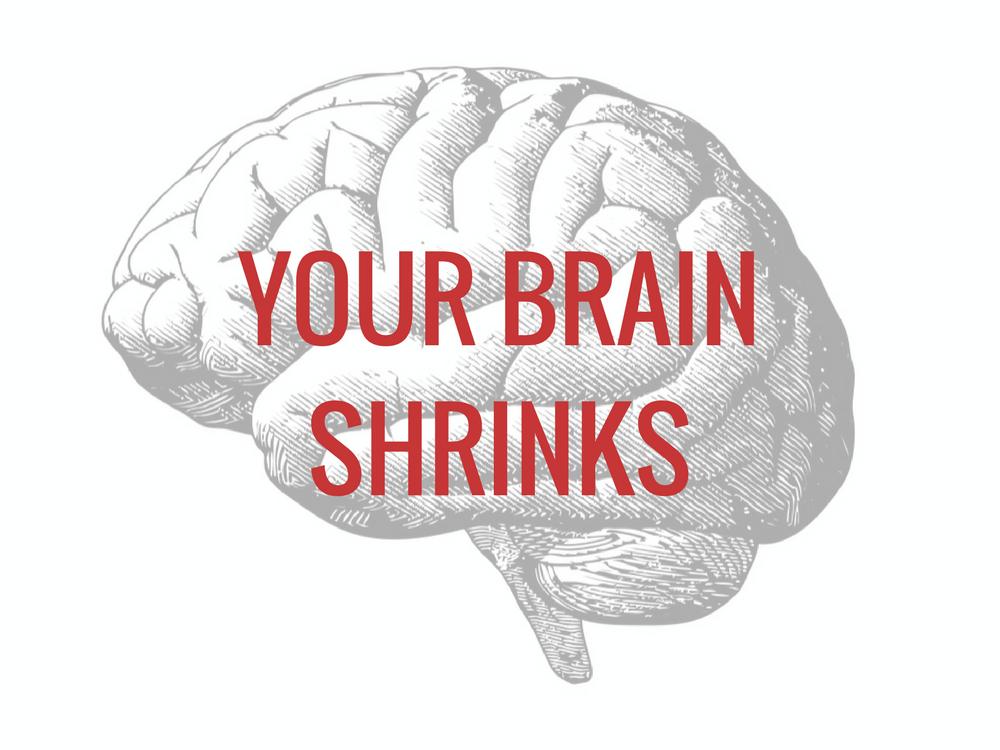 Your brain shrinks under stress