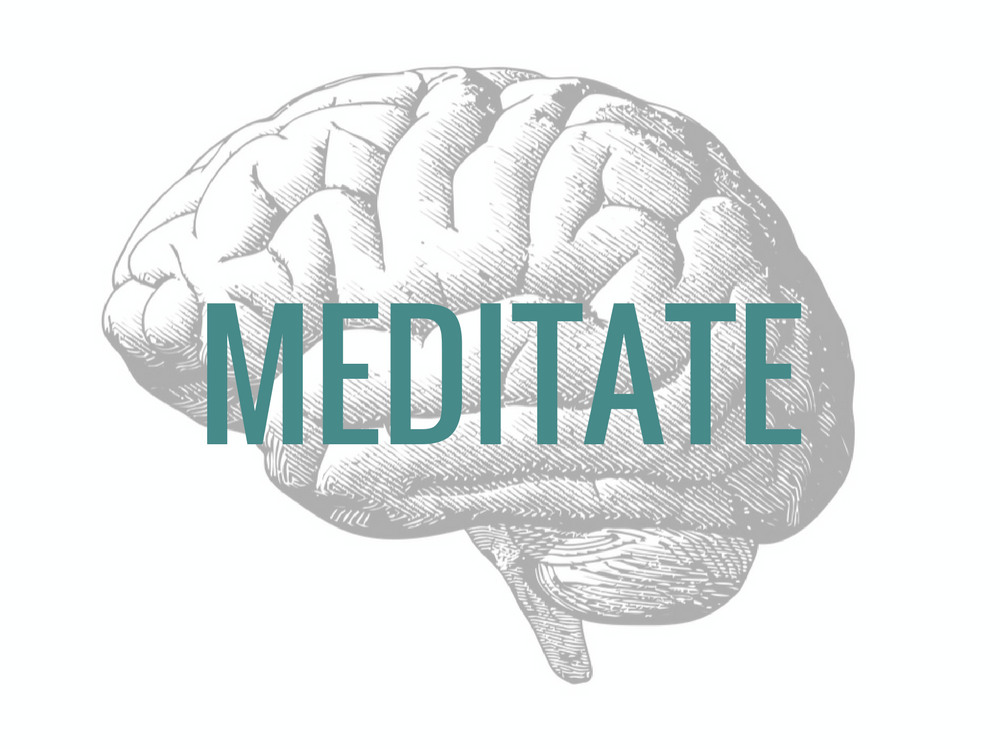Meditate to reverse the effects of stress and calm down your brain
