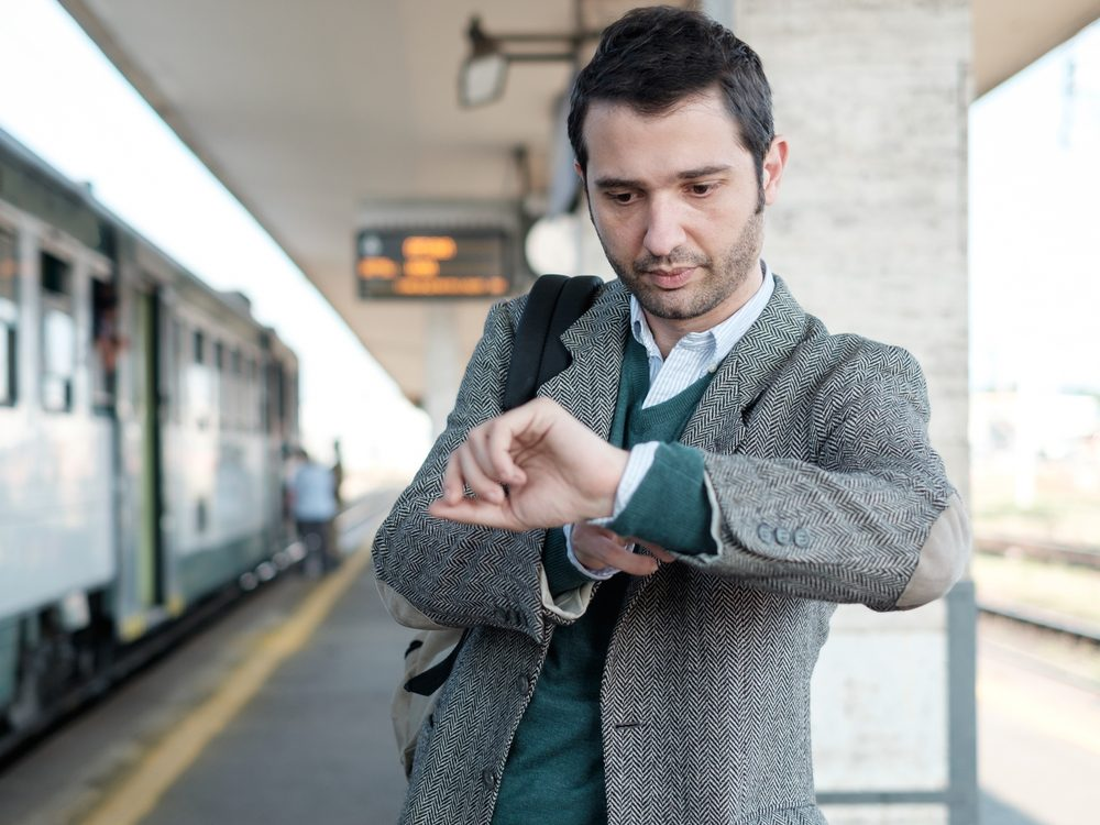 Successful people plan for inevitable delays in their commute