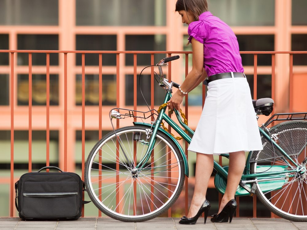 Successful people use their commute to exercise