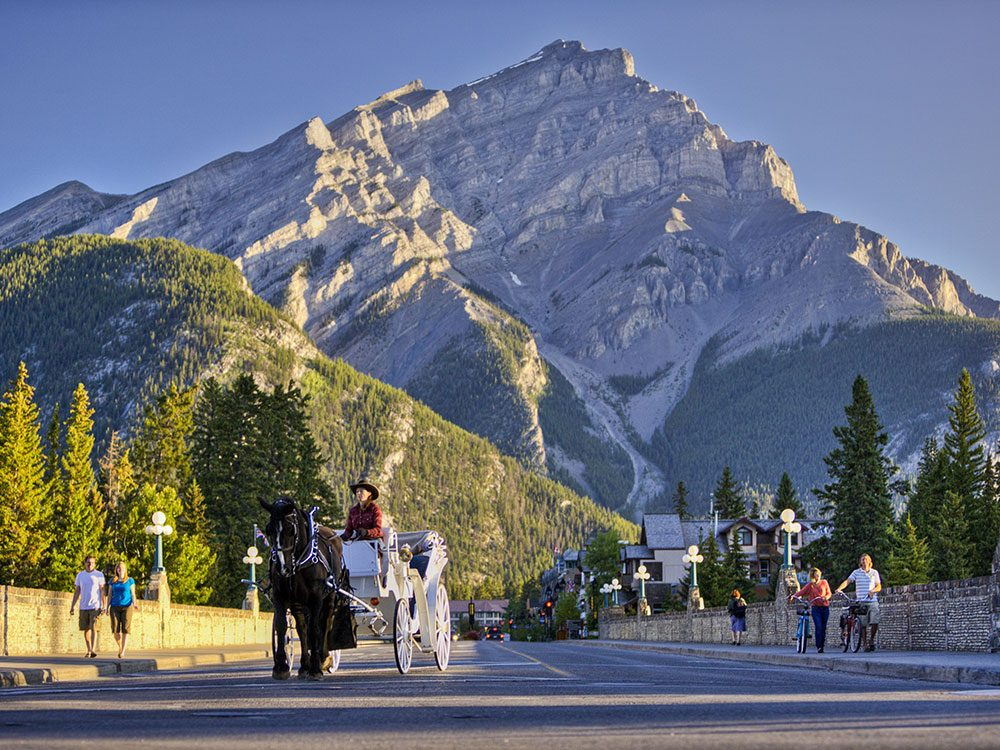 Mount Rundle in Banff