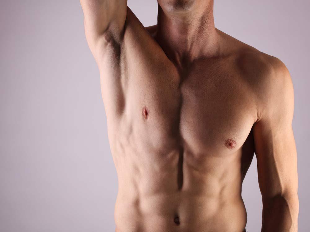 Male armpit