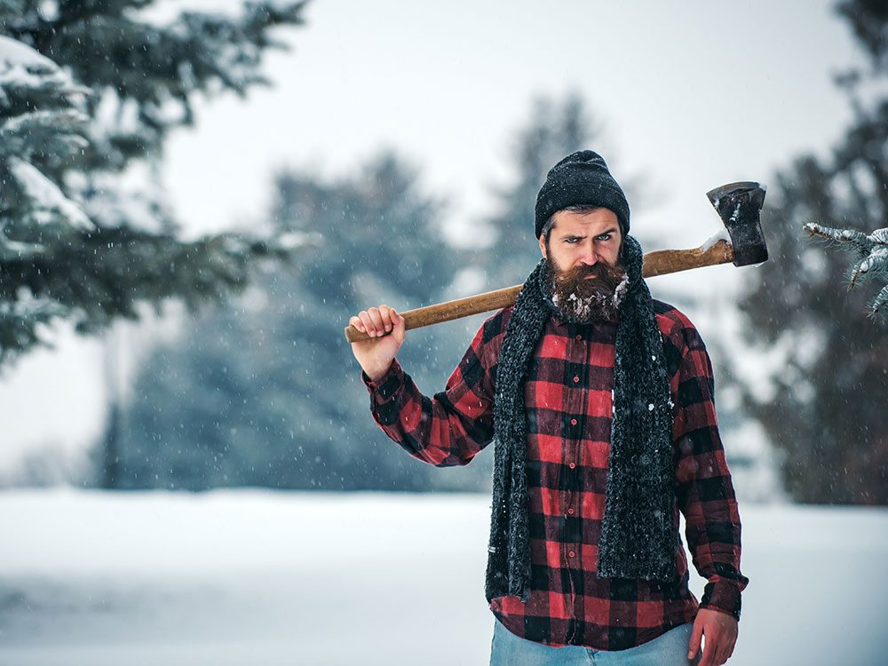 Canadian insults - stereotypical Canadian lumberjack