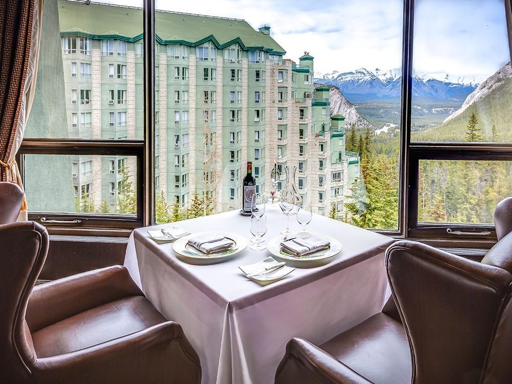 Eden Restaurant in Banff