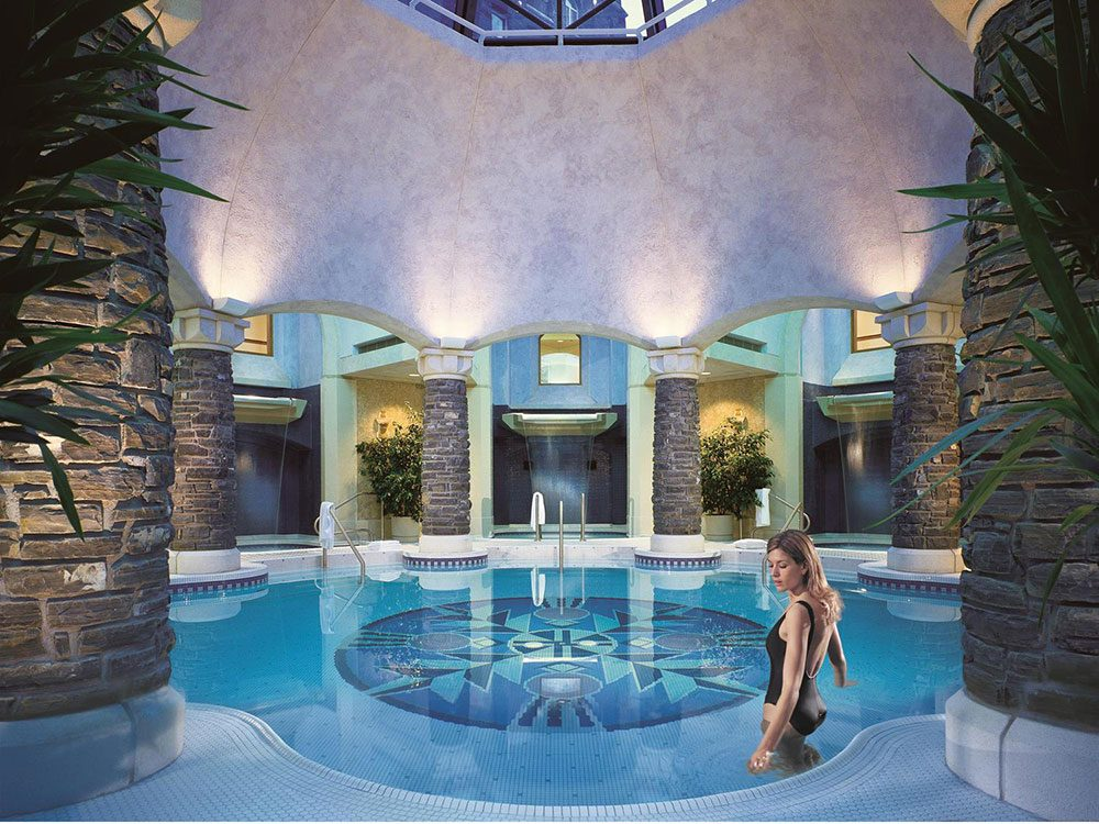 Willow stream spa at Fairmont Banff Springs