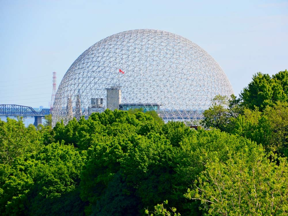 Expo 67 biosphere in Montreal