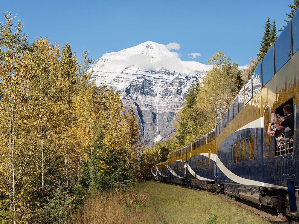 Mount Robson, Rocky Mountaineer