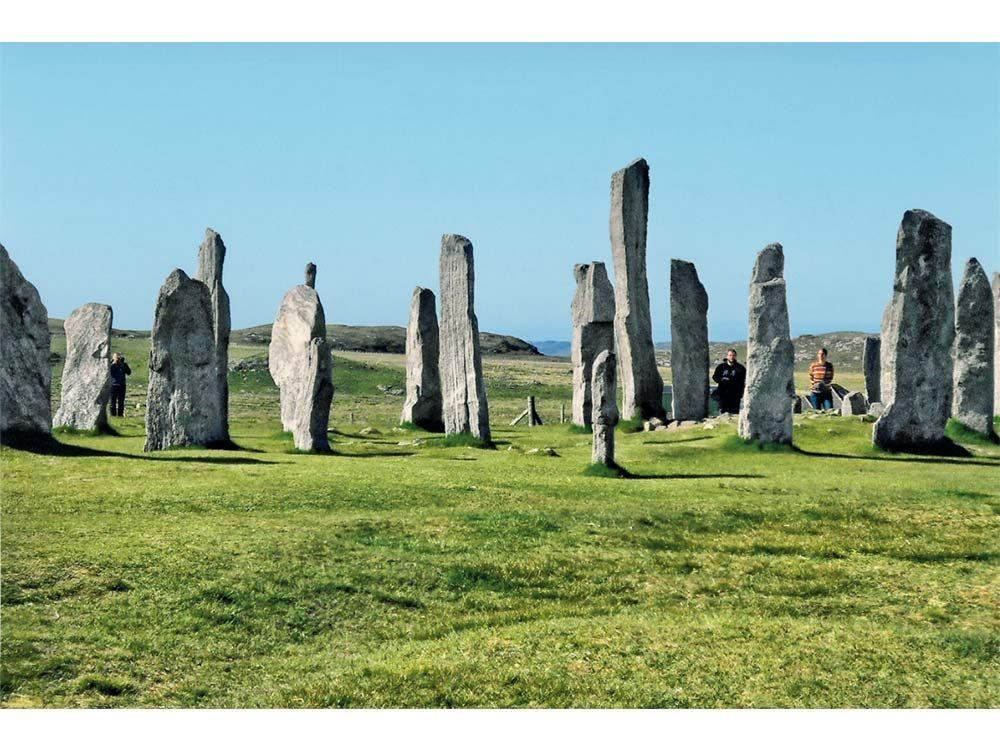 Callanish Stones in Scotland