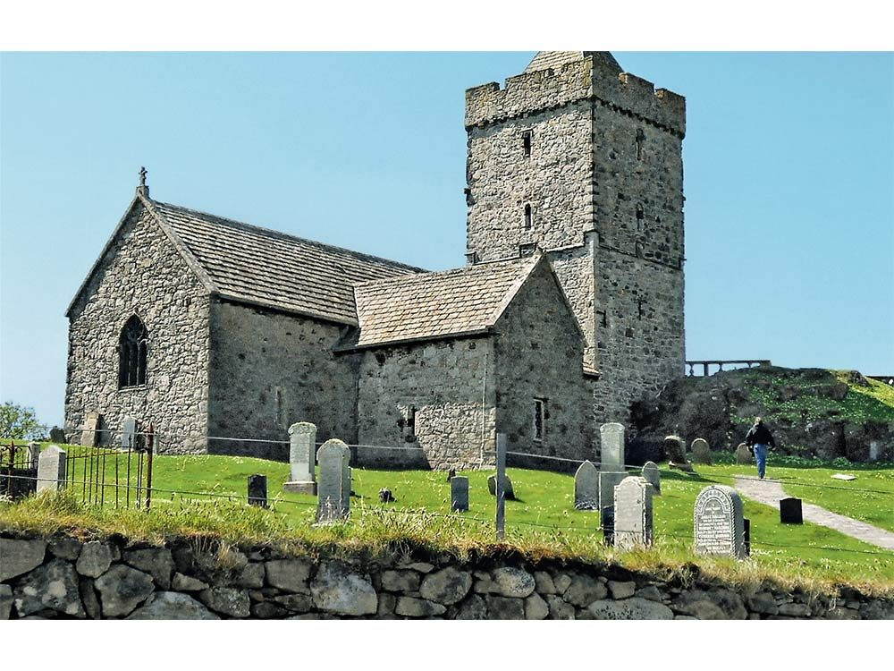 St. Clement's Church in Scotland