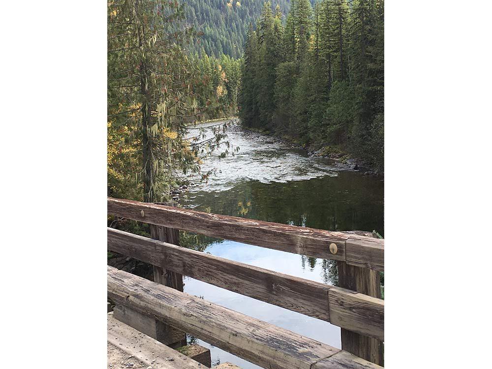 Goat River near Kitchener, British Columbia