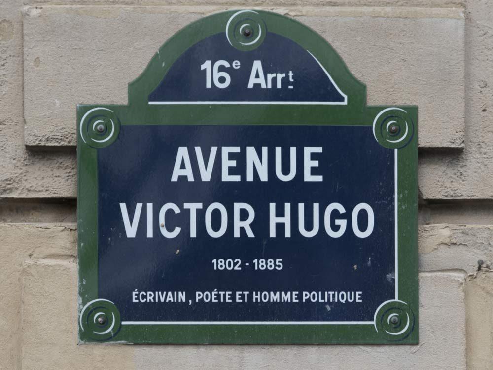 Victor Hugo sign