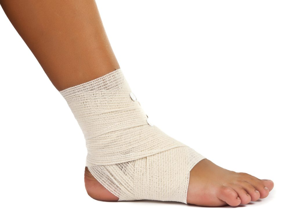 Podiatrists can treat foot and ankle injuries