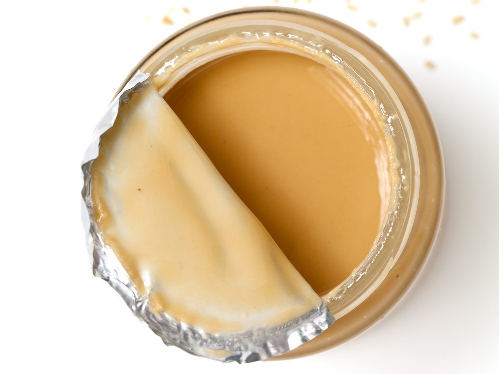 Tahini is a calcium-rich food that will help your burn fat