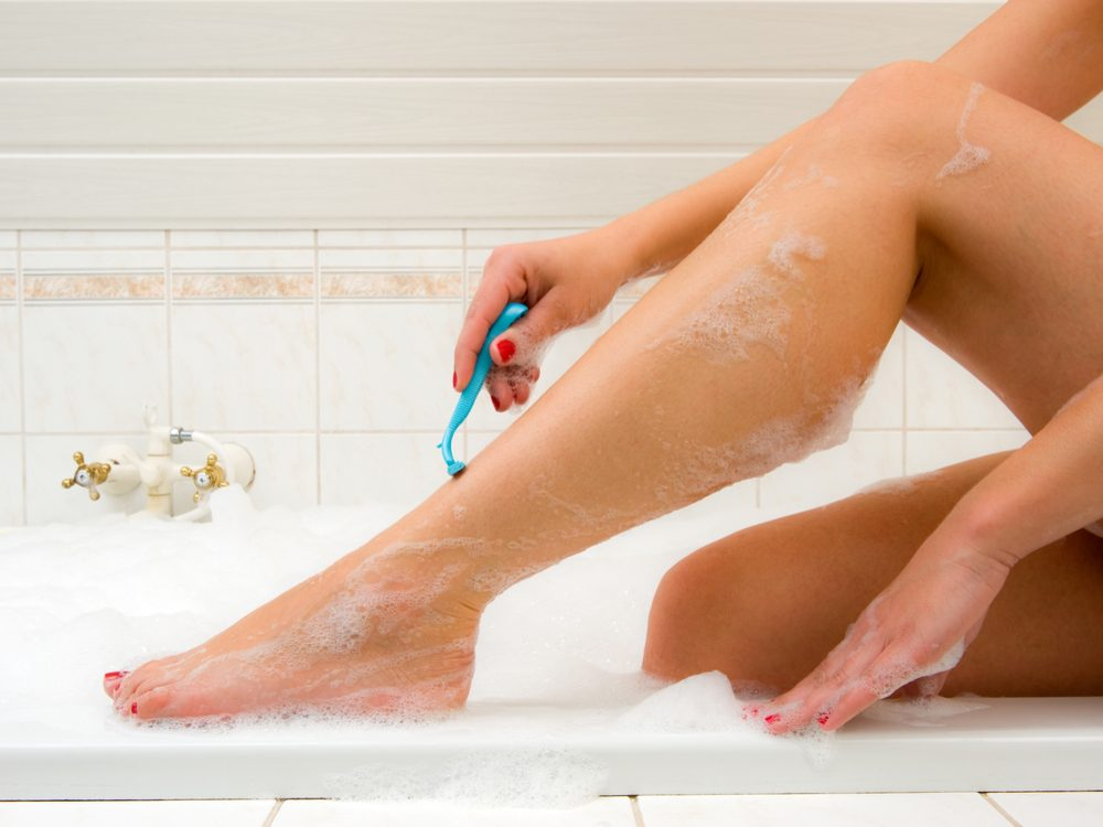You're showering wrong if your razor has too many blades