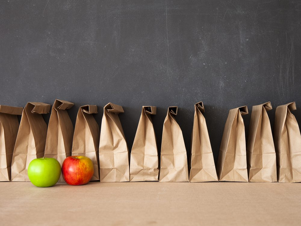Brown bagging your lunch is a proven weight loss tip from The Biggest Loser