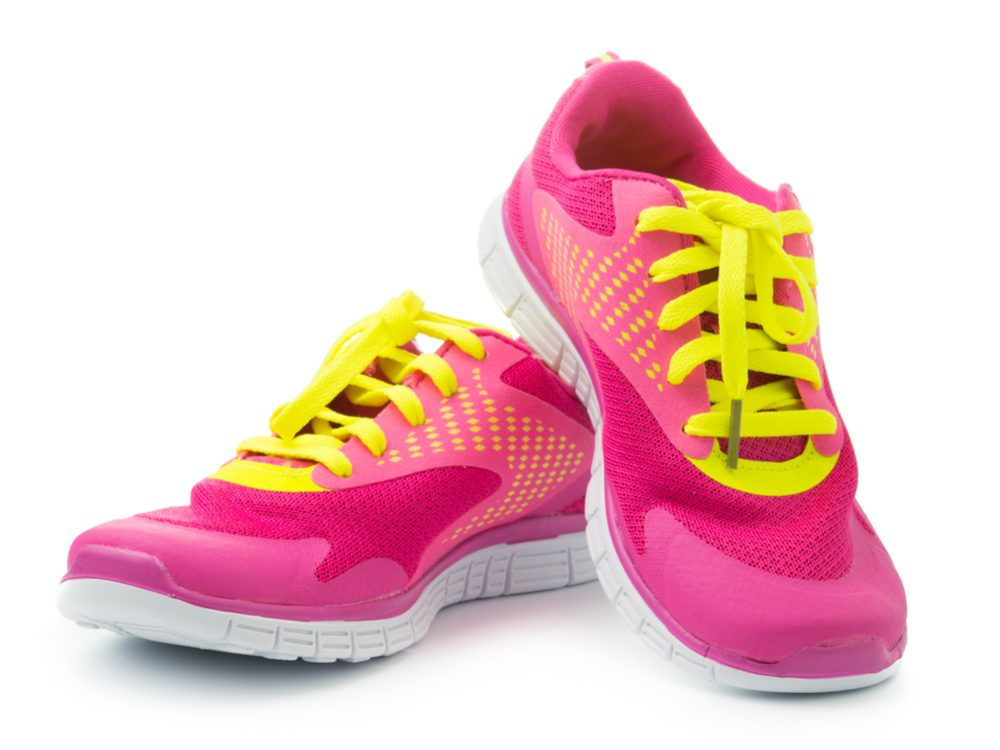 Buy shoes at a specialty running store, even if you just walk for exercise
