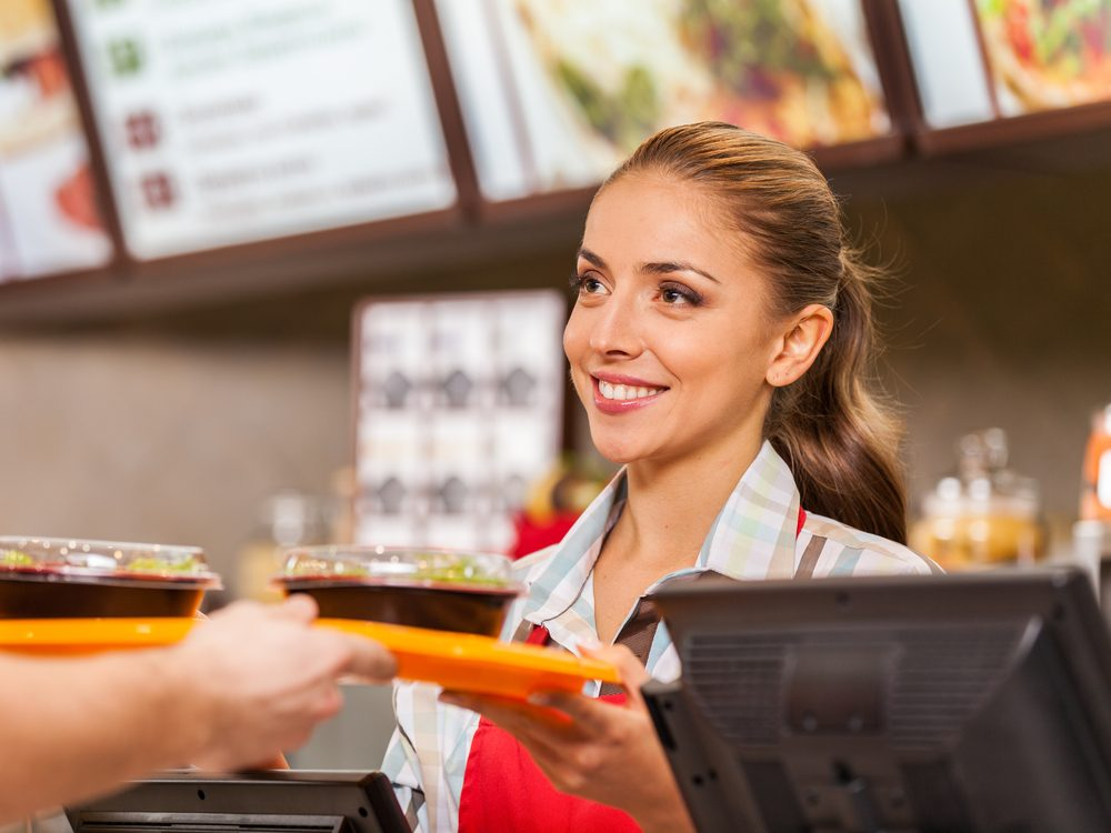 Cutting out fast food is a proven weight loss tip from The Biggest Loser