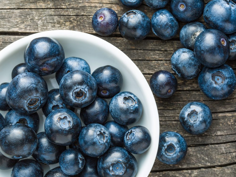 Blueberries can help beat a cold