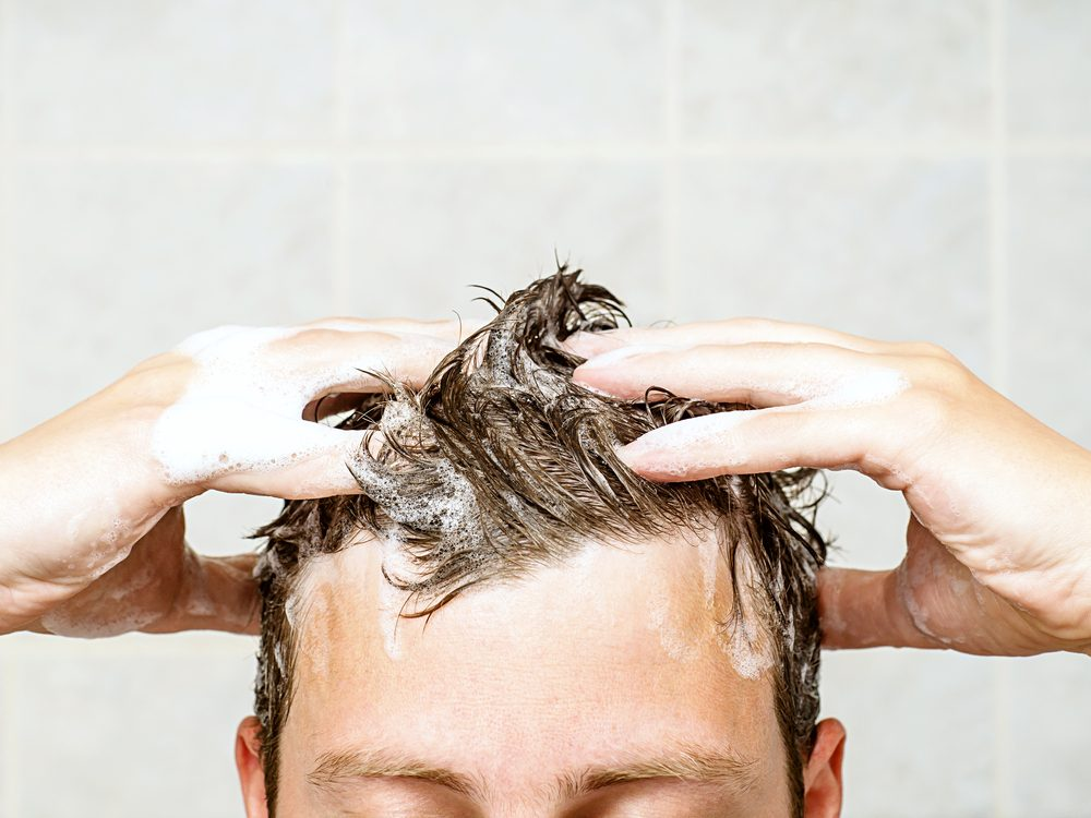 You're showering wrong if you don't condition your scalp