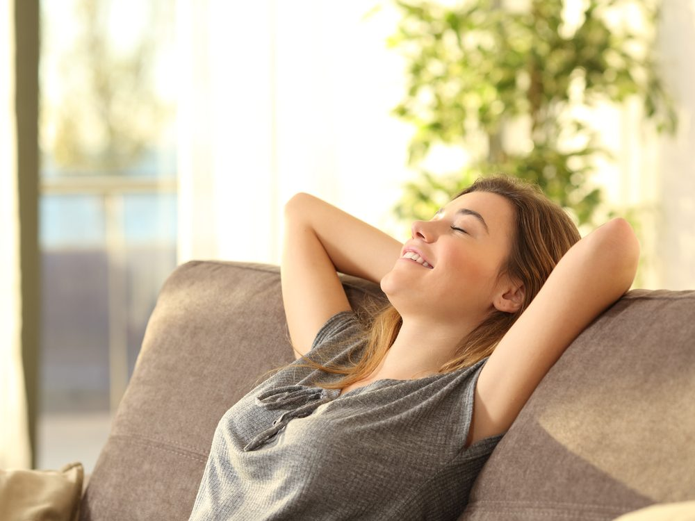 Chilling out is a proven weight loss tip from The Biggest Loser