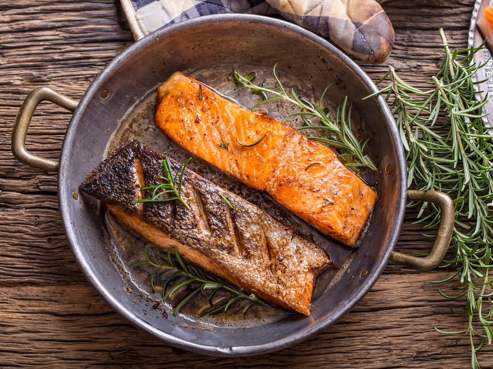 Fish can help beat a cold