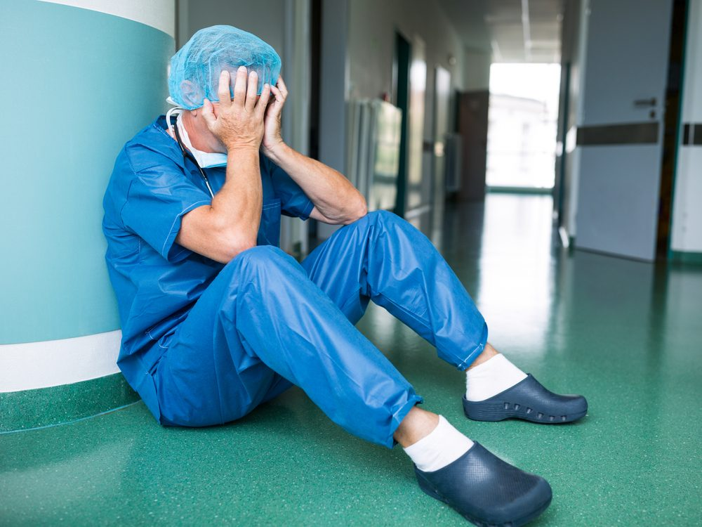 Patients think that we're so wrapped up in our hectic schedules that we don't care