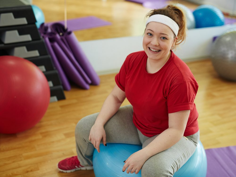 Using a mantra is a proven weight loss tip from The Biggest Loser