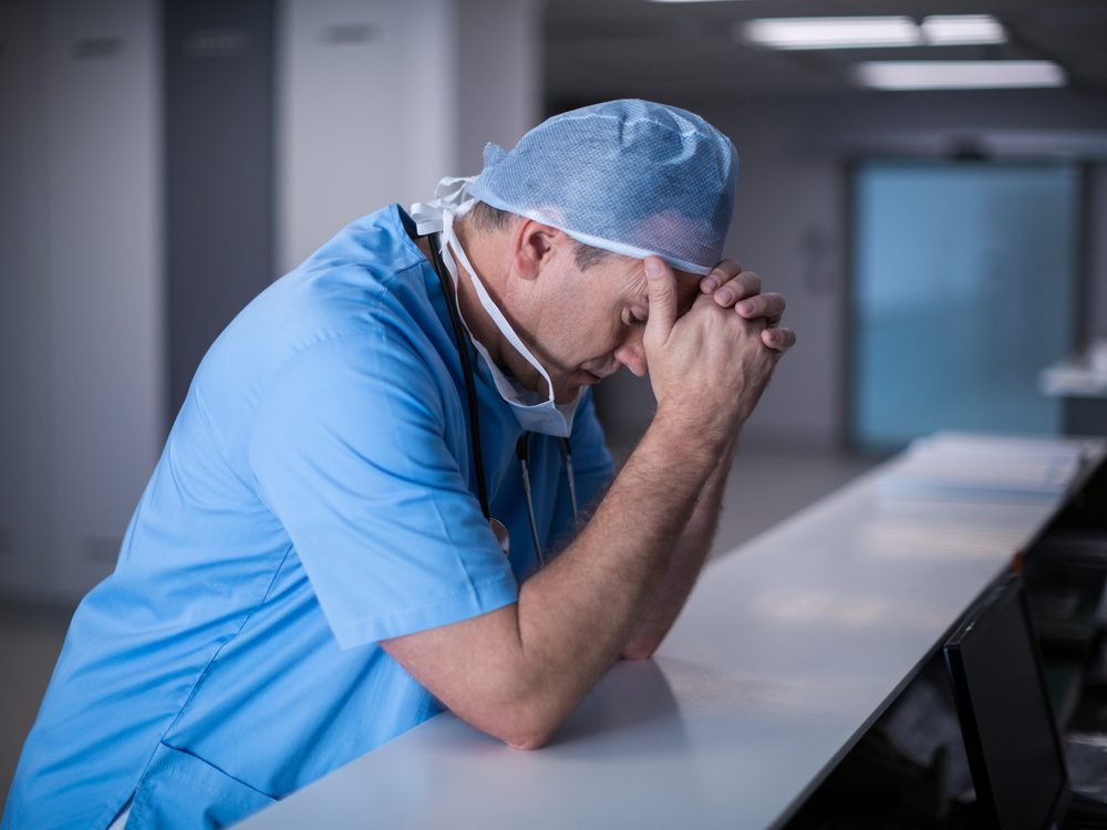 Every time a patient dies, I think about the family, the funeral, the kids