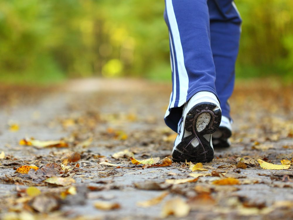 Taking a walk is a proven weight loss tip from The Biggest Loser