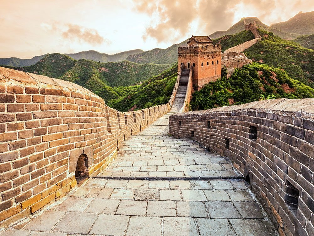 The Great Wall of China is one of the world's most unforgettable adventures