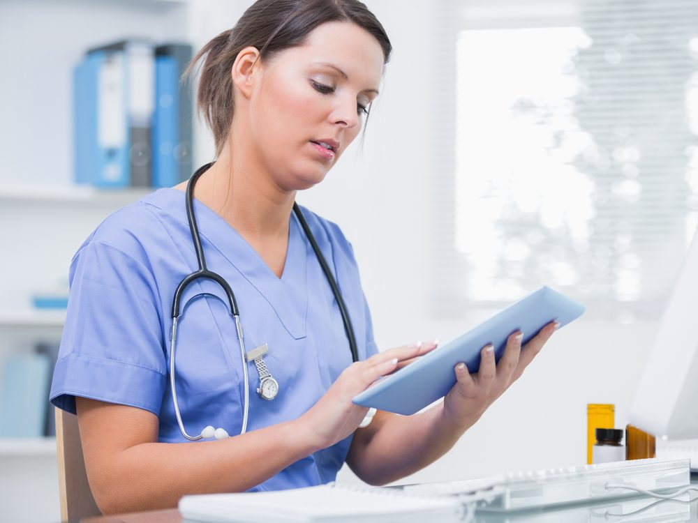 Nurses spend a lot of time charting