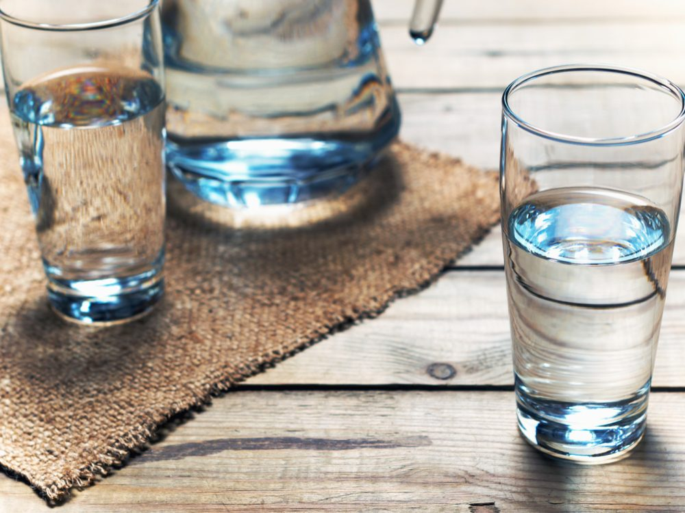 Drink plenty of water when you increase your dietary fibre