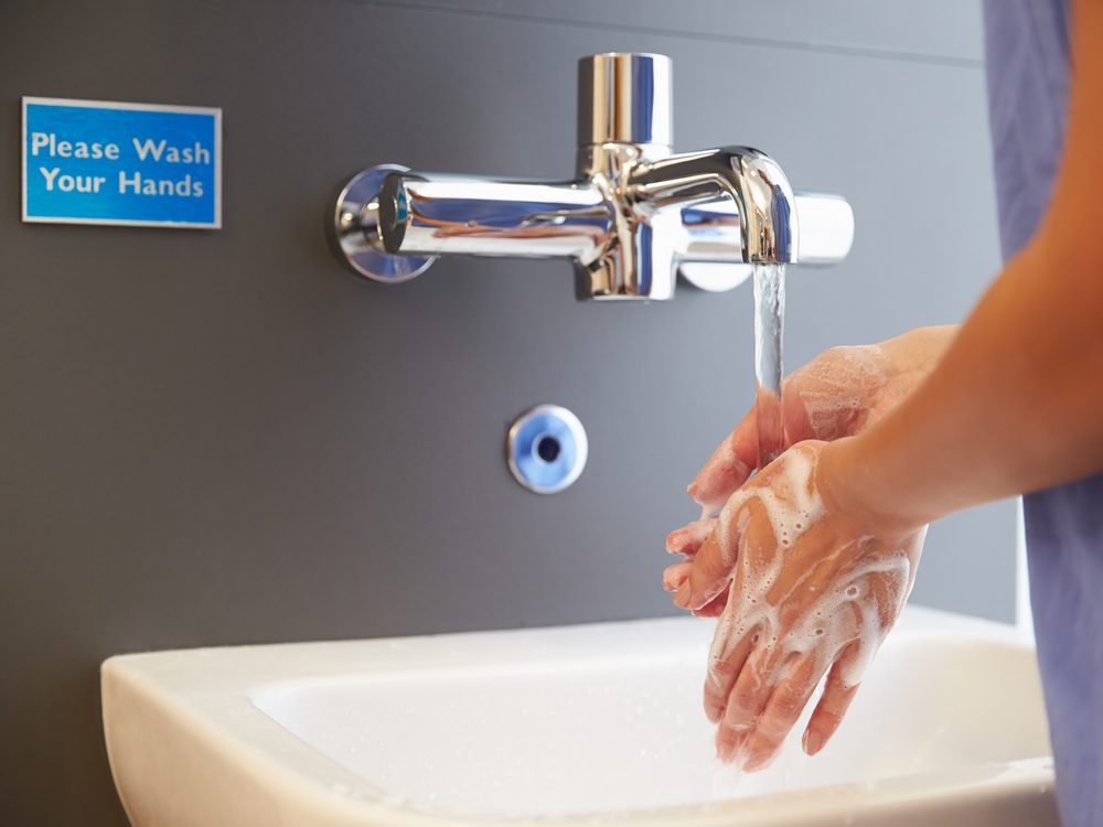 Always ask anyone who comes into your hospital room if they've washed their hands