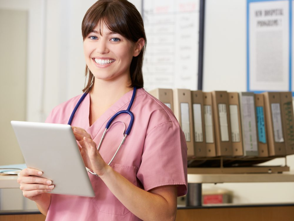 Respect professional boundaries with the nursing staff