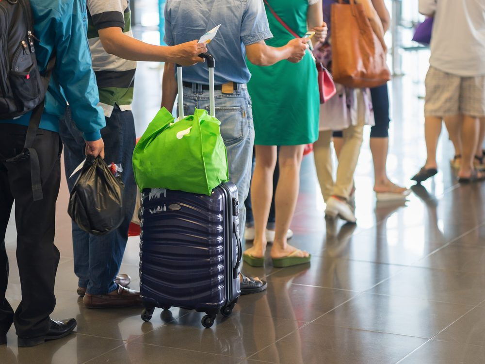 Don't wait at the gate desk when your flight is cancelled