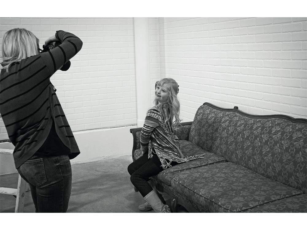 Samantha Link poses for photographer Melissa DePape