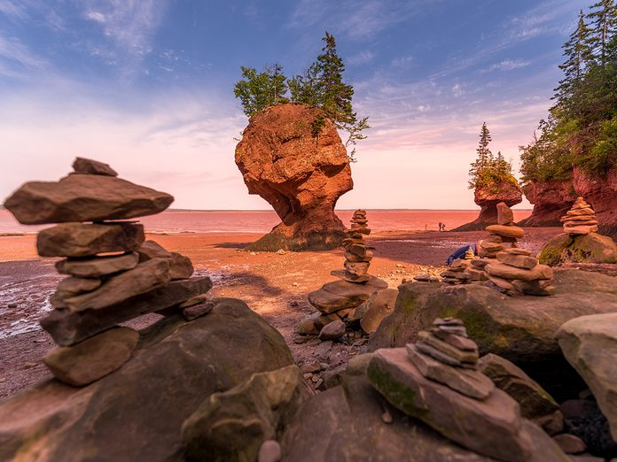 East Coast Canada - Hopewell Rocks