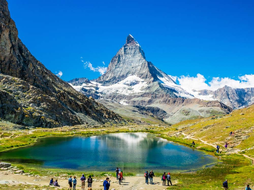 Matterhorn in Switzerland