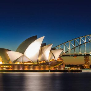 Common geography mistakes - Sydney Opera House