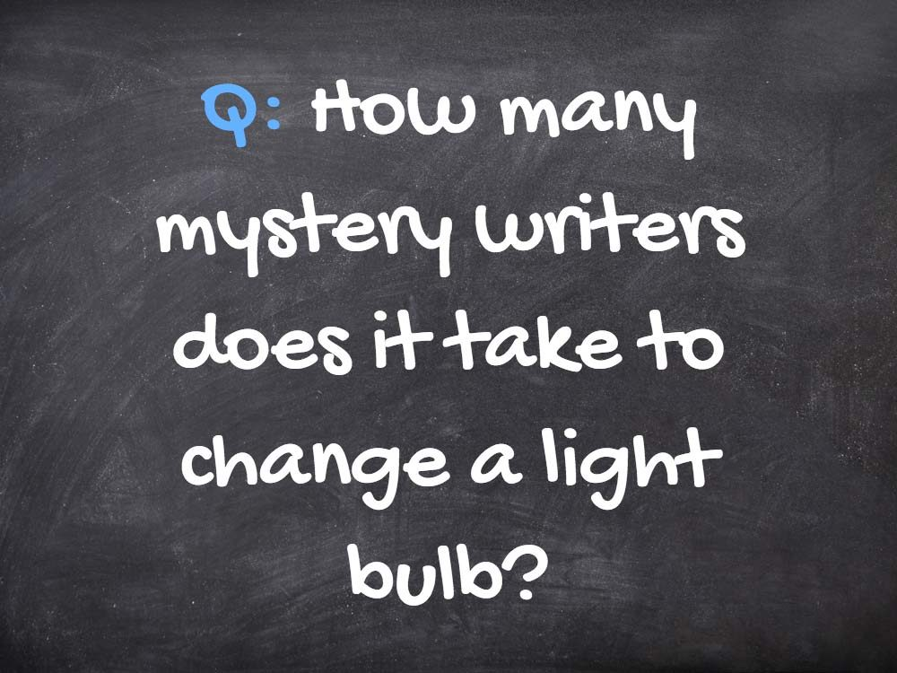 Light bulb grammar joke