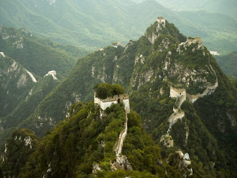 Jiankou section of the Great Wall of China