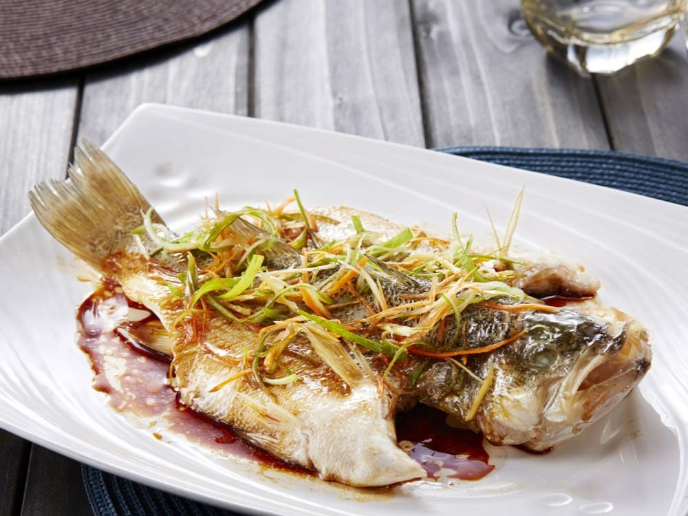Steamed Chinese fish