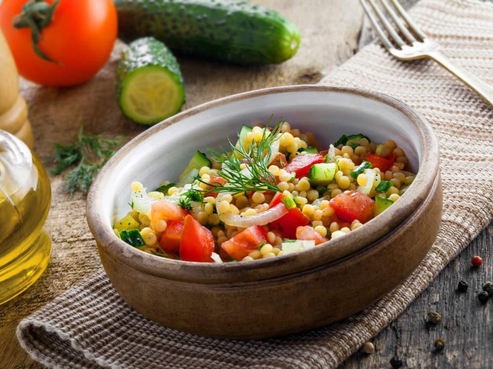 Healthy Arab salad