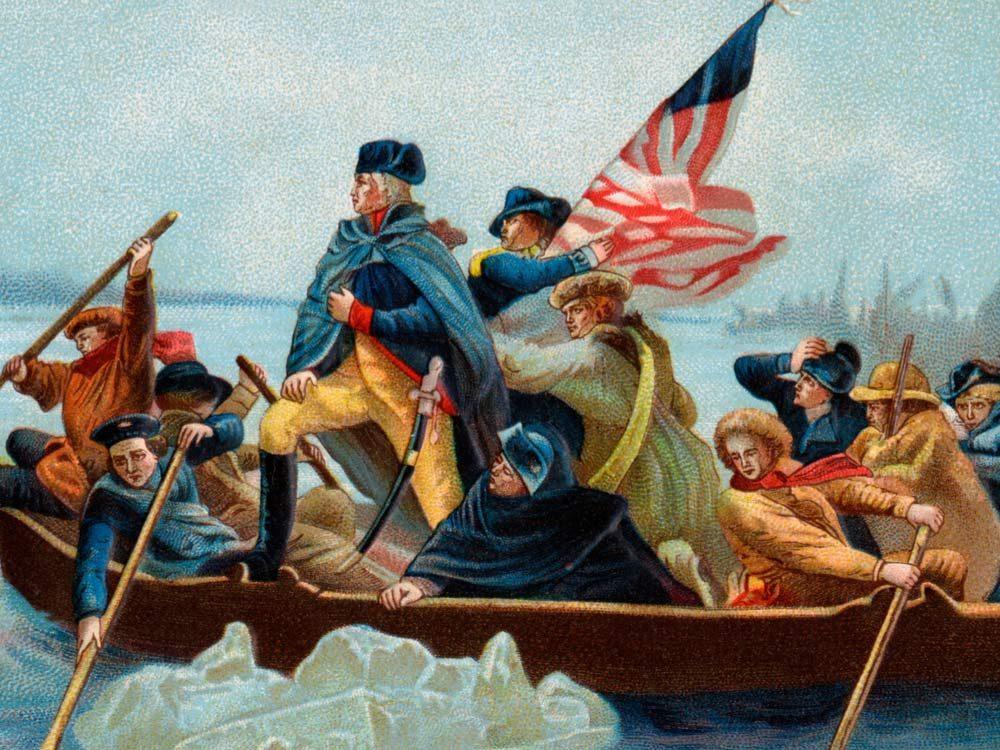 Washington's Delaware crossing