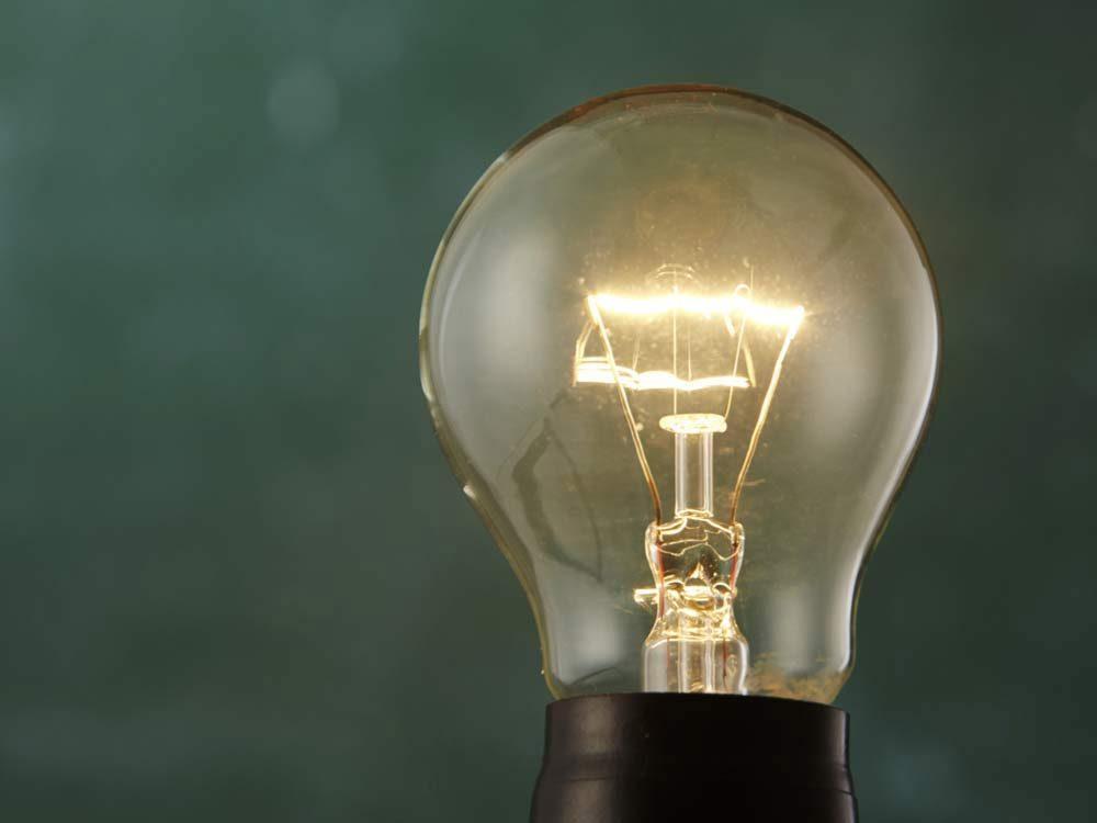 Light bulb detail