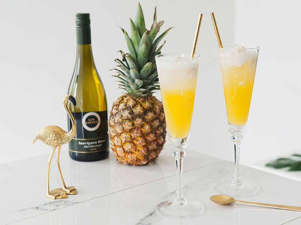 Keep your wine cold as a pina colada