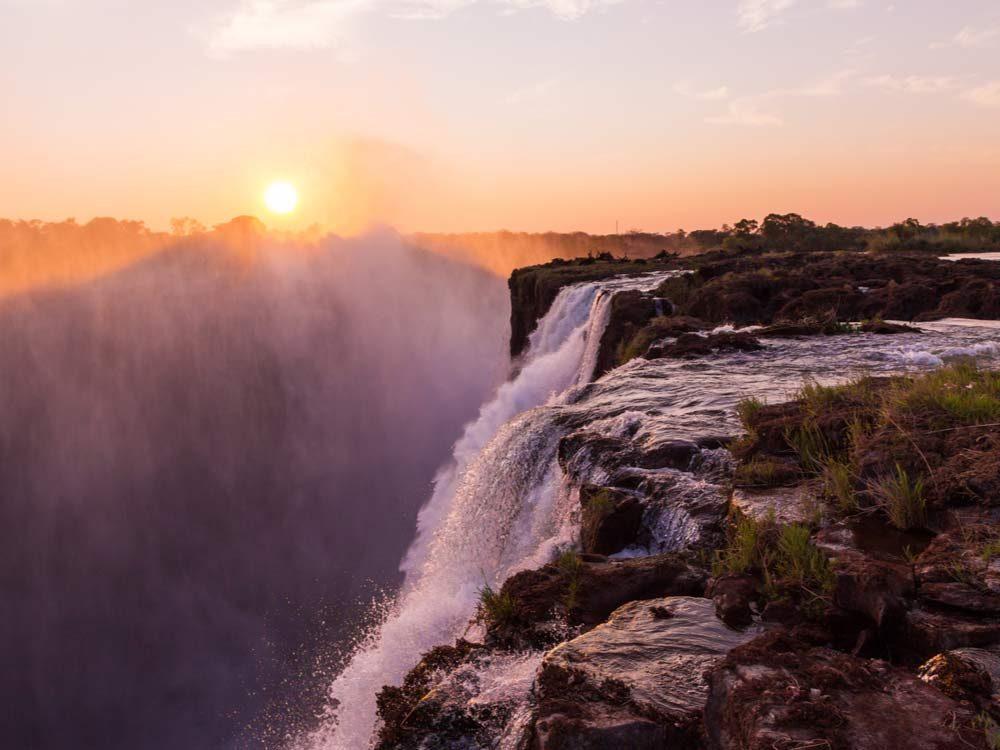 The Devil's Pool in Africa